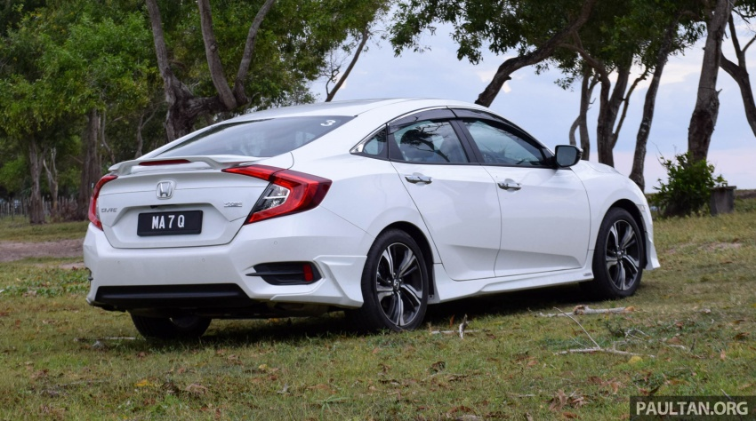 DRIVEN: 2016 Honda Civic 1.5L VTEC Turbo in Sabah – is the latest tenth-generation FC the best Civic ever? Image #546423