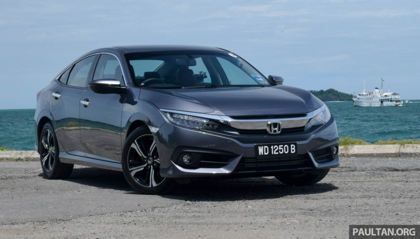 DRIVEN: 2016 Honda Civic 1.5L VTEC Turbo in Sabah – is the latest tenth-generation FC the best Civic ever? Image #546425