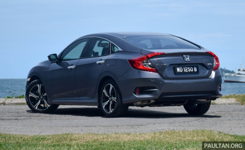 DRIVEN: 2016 Honda Civic 1.5L VTEC Turbo in Sabah – is the latest tenth-generation FC the best Civic ever? Image #546427