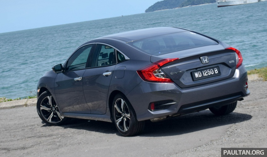 DRIVEN: 2016 Honda Civic 1.5L VTEC Turbo in Sabah – is the latest tenth-generation FC the best Civic ever? Image #546428