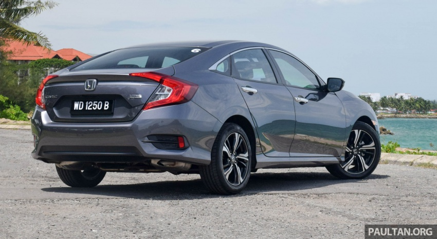 DRIVEN: 2016 Honda Civic 1.5L VTEC Turbo in Sabah – is the latest tenth-generation FC the best Civic ever? Image #546429