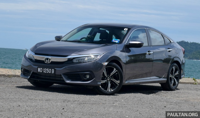 DRIVEN: 2016 Honda Civic 1.5L VTEC Turbo in Sabah – is the latest ...