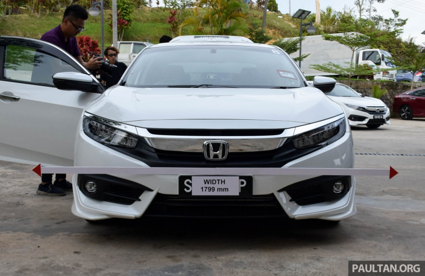 DRIVEN: 2016 Honda Civic 1.5L VTEC Turbo in Sabah – is the latest tenth-generation FC the best Civic ever? Image #546400