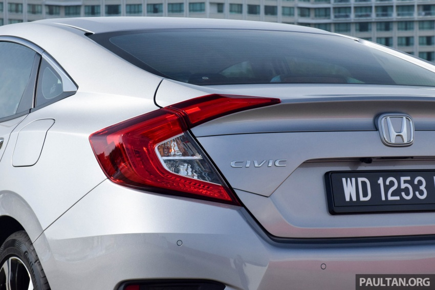 DRIVEN: 2016 Honda Civic 1.5L VTEC Turbo in Sabah – is the latest tenth-generation FC the best Civic ever? Image #546342