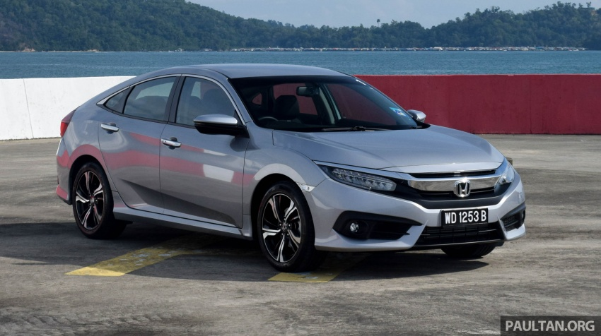 DRIVEN: 2016 Honda Civic 1.5L VTEC Turbo in Sabah – is the latest tenth-generation FC the best Civic ever? Image #546318