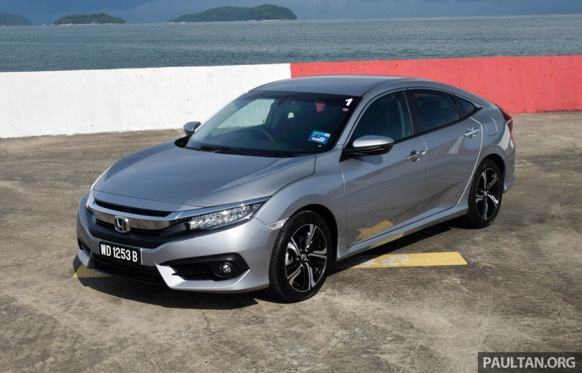 DRIVEN: 2016 Honda Civic 1.5L VTEC Turbo in Sabah – is the latest tenth-generation FC the best Civic ever? Image #546320