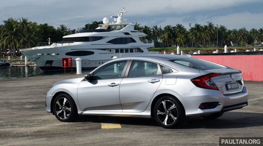 DRIVEN: 2016 Honda Civic 1.5L VTEC Turbo in Sabah – is the latest tenth-generation FC the best Civic ever? Image #546321