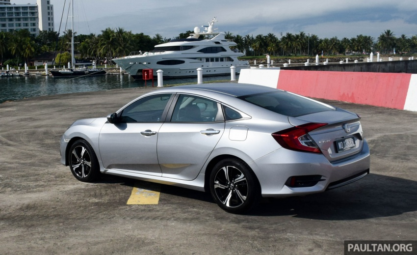 DRIVEN: 2016 Honda Civic 1.5L VTEC Turbo in Sabah – is the latest tenth-generation FC the best Civic ever? Image #546323