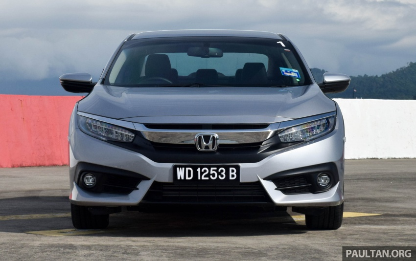 DRIVEN: 2016 Honda Civic 1.5L VTEC Turbo in Sabah – is the latest tenth-generation FC the best Civic ever? Image #546325