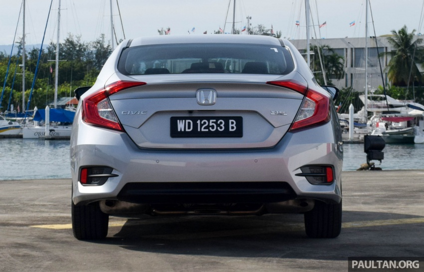 DRIVEN: 2016 Honda Civic 1.5L VTEC Turbo in Sabah – is the latest tenth-generation FC the best Civic ever? Image #546327