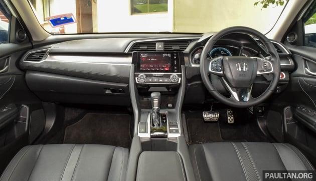 Honda Civic review-int 1