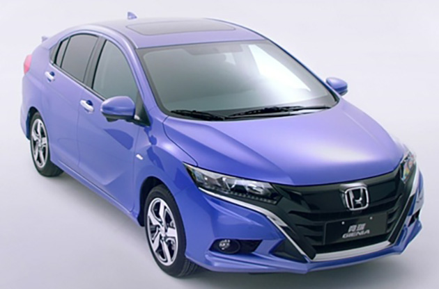 Honda Gienia officially revealed for the Chinese market Image #544156