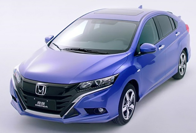 Honda Gienia officially revealed for the Chinese market Image #544157