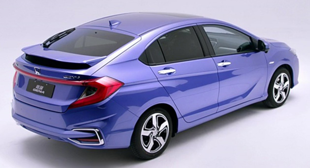 Honda Gienia officially revealed for the Chinese market Image #544158