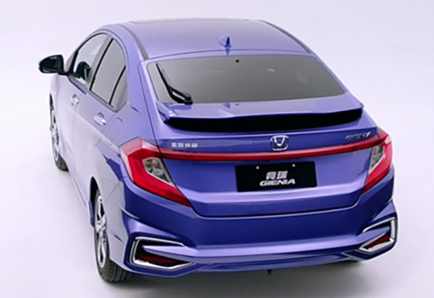 Honda Gienia officially revealed for the Chinese market Image #544159