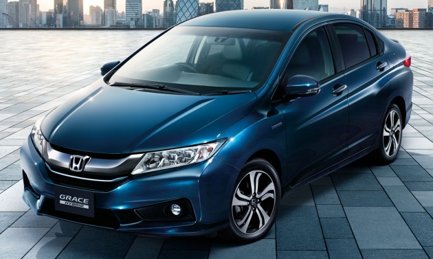 Honda Cr V 2018 Hybrid >> Honda Grace Style Edition launched - JDM only model