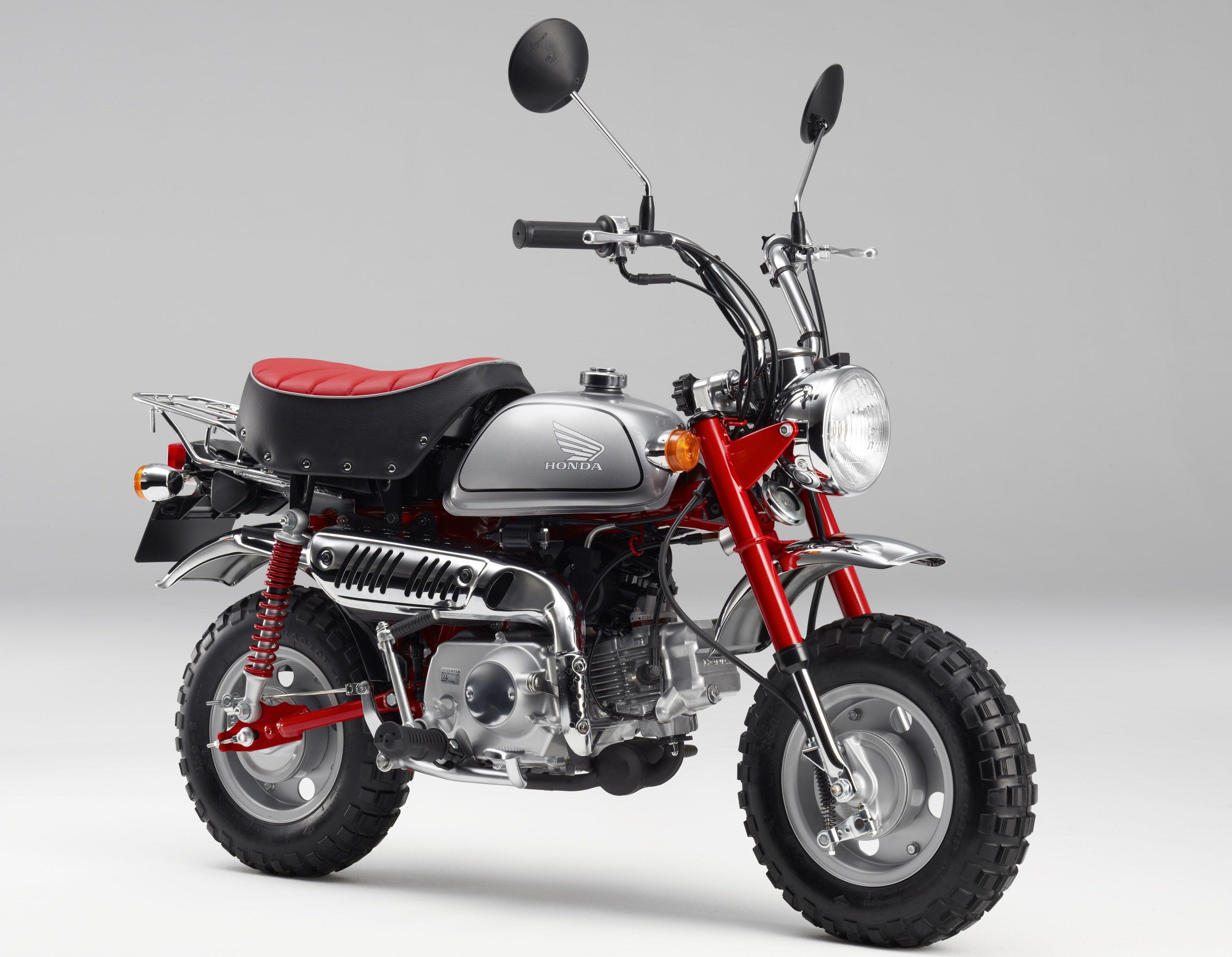 Honda Monkey – MSX125SF based mini-bike to return? Image ...