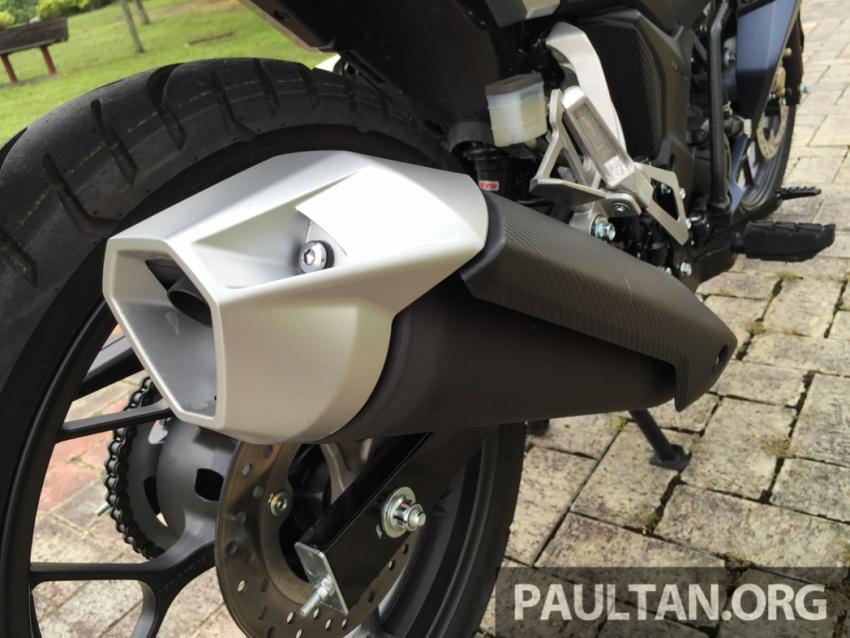 Honda RS150R vs Yamaha Y15ZR – Dua model terhangat bersemuka dalam segmen kapcai sports Image #549520
