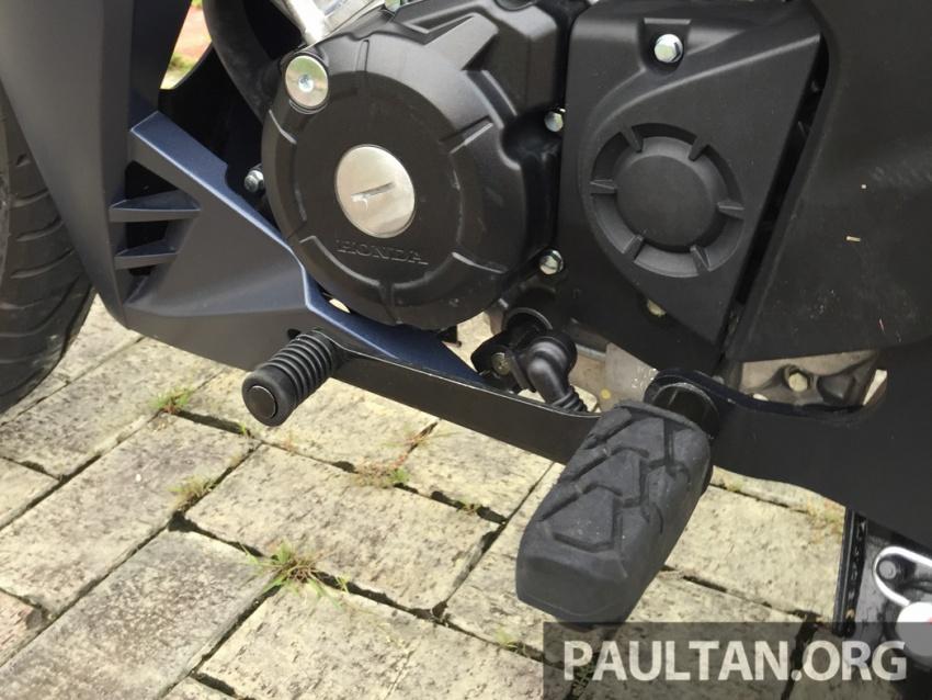 Honda RS150R vs Yamaha Y15ZR – Dua model terhangat bersemuka dalam segmen kapcai sports Image #551662