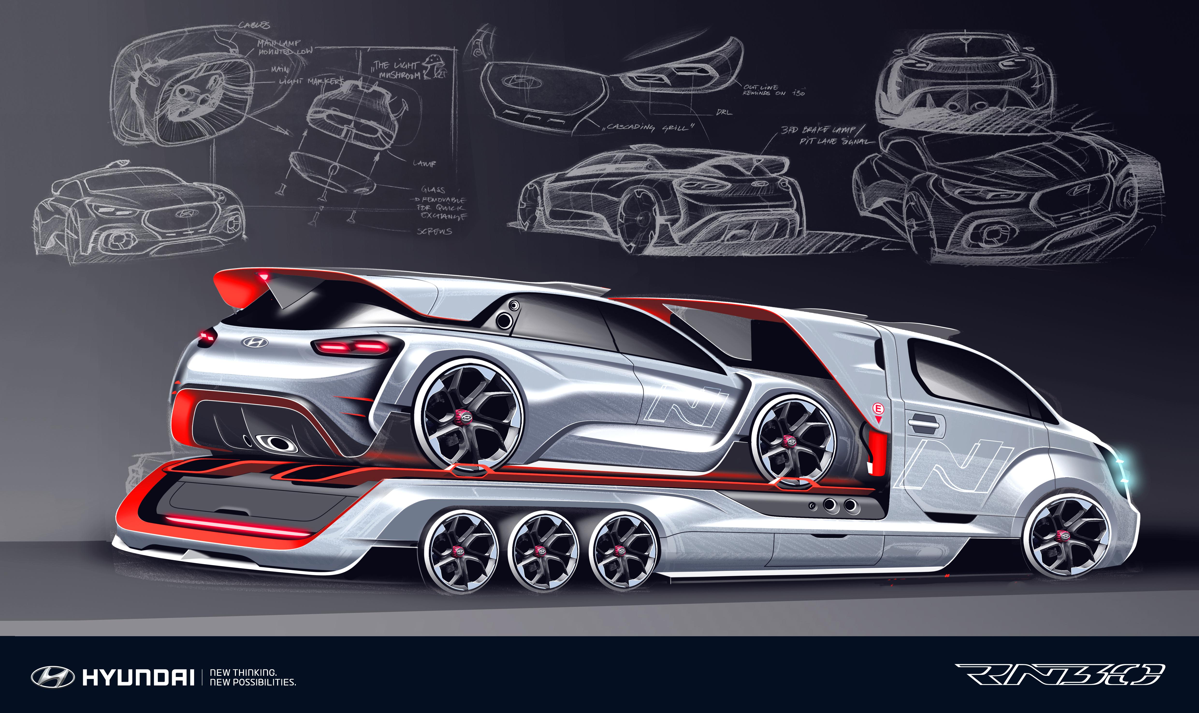 Hyundai I30n >> Hyundai RN30 Concept – i30 N with 380 hp 2.0L turbo Paul Tan - Image 557369
