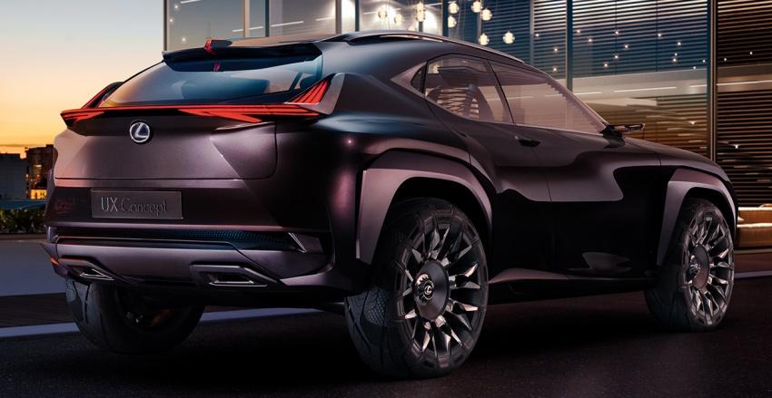 Lexus UX Concept – first preview ahead of Paris 2016 Image #547382
