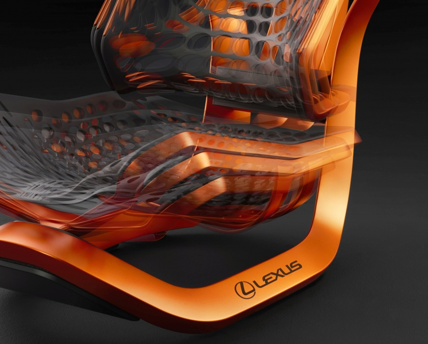 Lexus Kinetic Seat Concept – lighter and comfier Image #549875