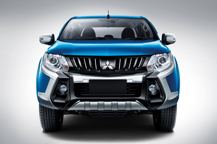 Mitsubishi Triton VGT dipertingkat dilancarkan- 2.4L MIVEC Turbodiesel, 181 PS/430 Nm, varian X baharu Image #545273