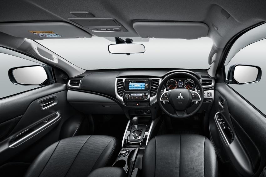 Mitsubishi Triton VGT dipertingkat dilancarkan- 2.4L MIVEC Turbodiesel, 181 PS/430 Nm, varian X baharu Image #545271