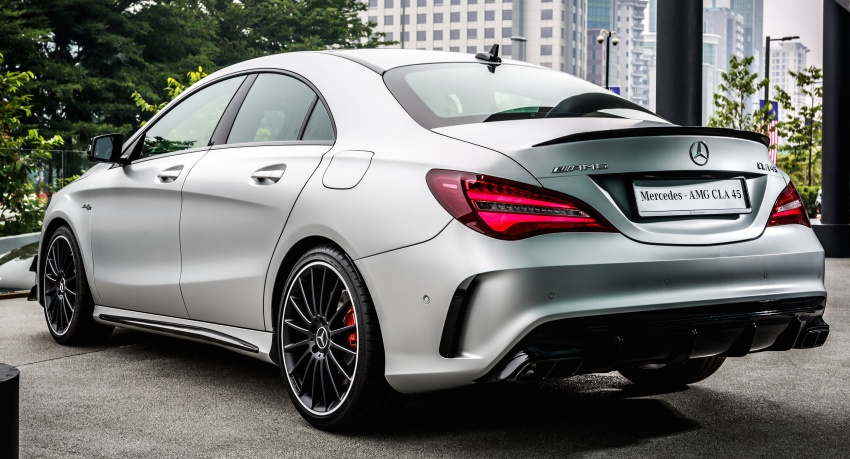 mercedes benz cla facelift launched in m sia cla200 rm237k cla250 rm279k amg cla45 at rm409k. Black Bedroom Furniture Sets. Home Design Ideas