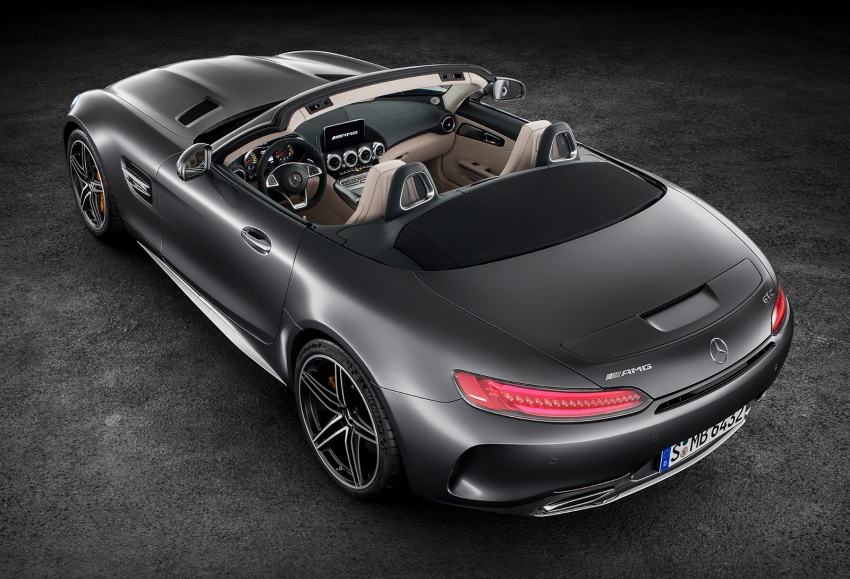 Mercedes-AMG GT C Roadster – 557 hp, 680 Nm convertible with goodies from the GT R Image #549162