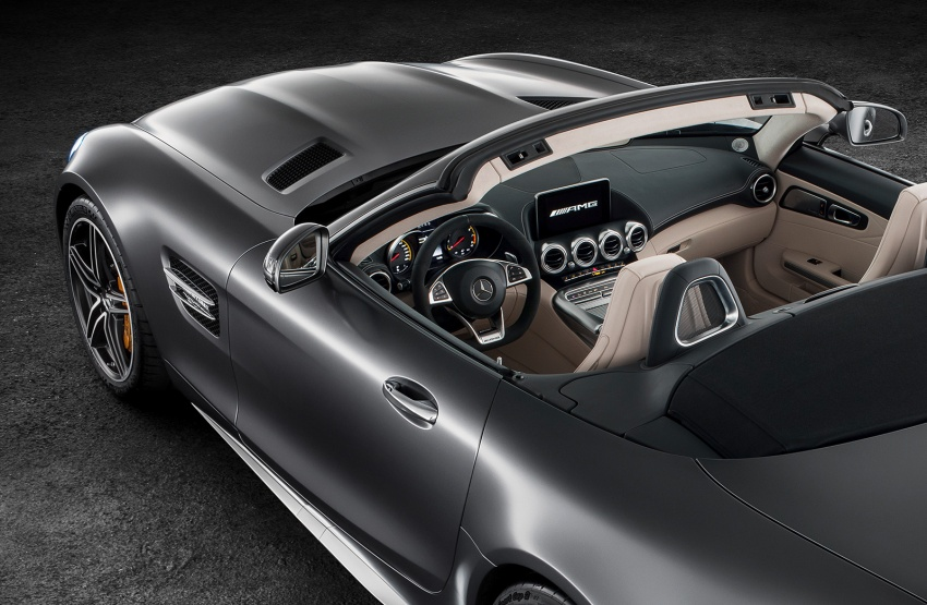 Mercedes-AMG GT C Roadster – 557 hp, 680 Nm convertible with goodies from the GT R Image #549164