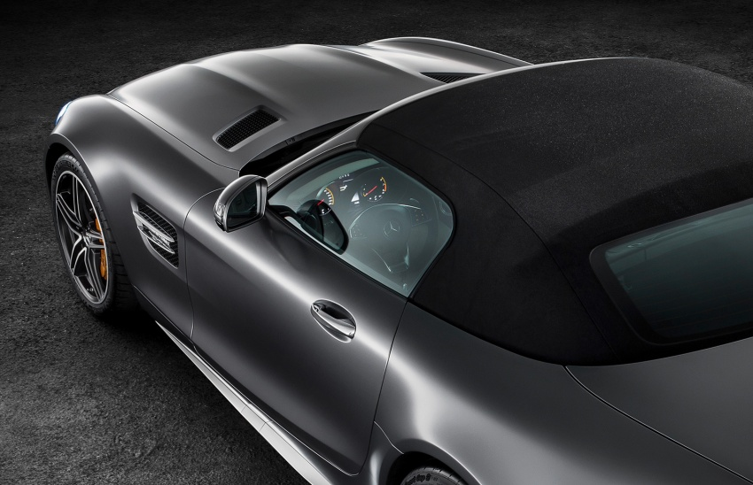 Mercedes-AMG GT C Roadster – 557 hp, 680 Nm convertible with goodies from the GT R Image #549166