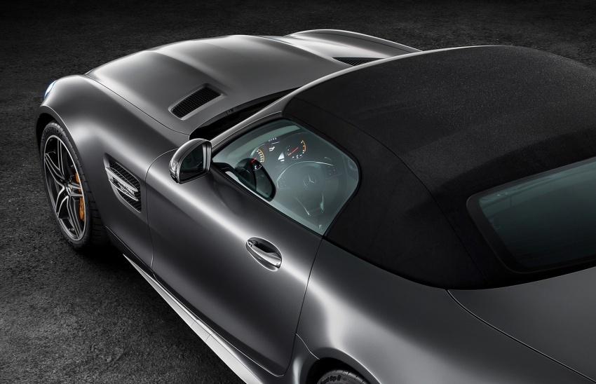 Mercedes-AMG GT C Roadster – punya kuasa 557hp, 680Nm tork dan kelengkapan prestasi daripada GT R Image #549315
