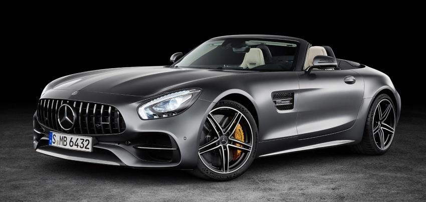 Mercedes-AMG GT C Roadster – punya kuasa 557hp, 680Nm tork dan kelengkapan prestasi daripada GT R Image #549316