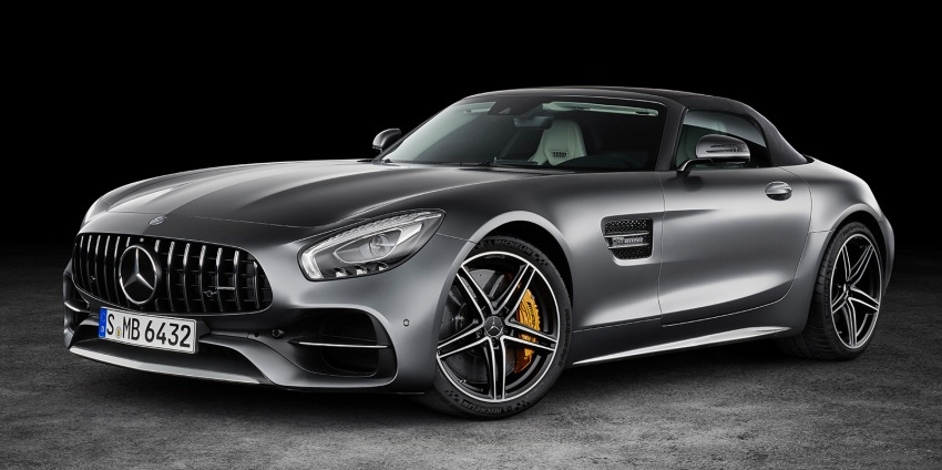Mercedes-AMG GT C Roadster – 557 hp, 680 Nm convertible with goodies from the GT R Image #549168