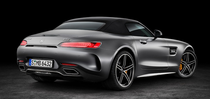 Mercedes-AMG GT C Roadster – 557 hp, 680 Nm convertible with goodies from the GT R Image #549170