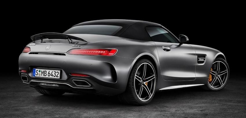Mercedes-AMG GT C Roadster – punya kuasa 557hp, 680Nm tork dan kelengkapan prestasi daripada GT R Image #549318
