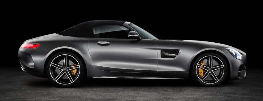 Mercedes-AMG GT C Roadster – 557 hp, 680 Nm convertible with goodies from the GT R Image #549172