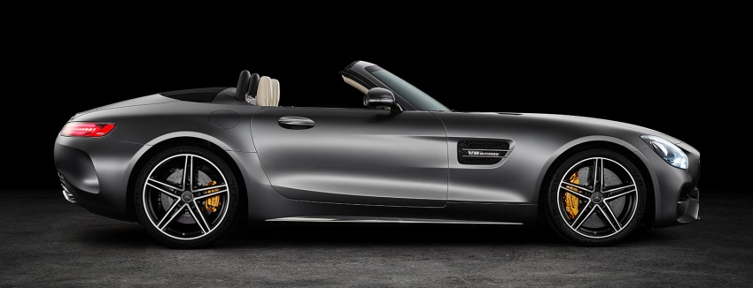 Mercedes-AMG GT C Roadster – 557 hp, 680 Nm convertible with goodies from the GT R Image #549174