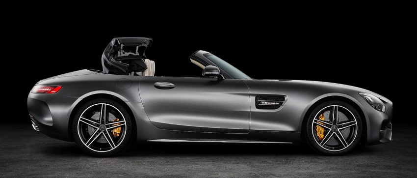 Mercedes-AMG GT C Roadster – 557 hp, 680 Nm convertible with goodies from the GT R Image #549175
