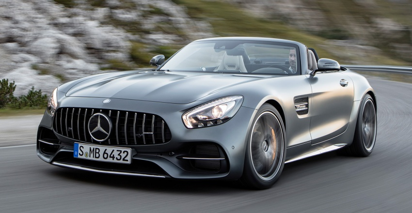 Mercedes-AMG GT C Roadster – 557 hp, 680 Nm convertible with goodies from the GT R Image #549179