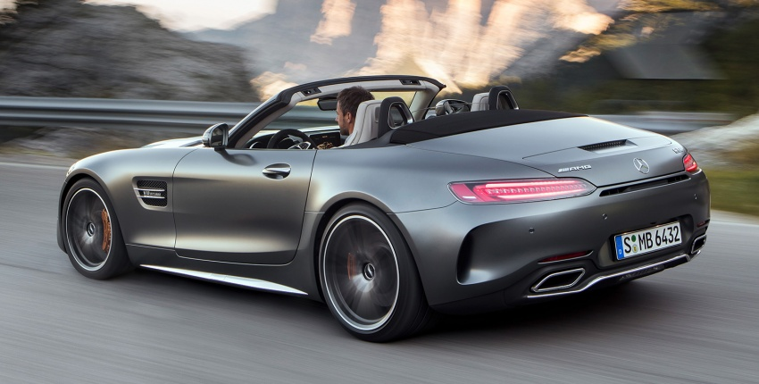 Mercedes-AMG GT C Roadster – 557 hp, 680 Nm convertible with goodies from the GT R Image #549181