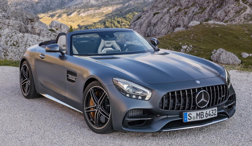 Mercedes-AMG GT C Roadster – 557 hp, 680 Nm convertible with goodies from the GT R Image #549182
