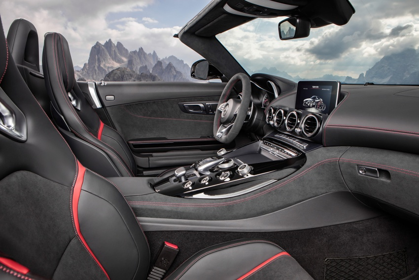 Mercedes-AMG GT C Roadster – 557 hp, 680 Nm convertible with goodies from the GT R Image #549183