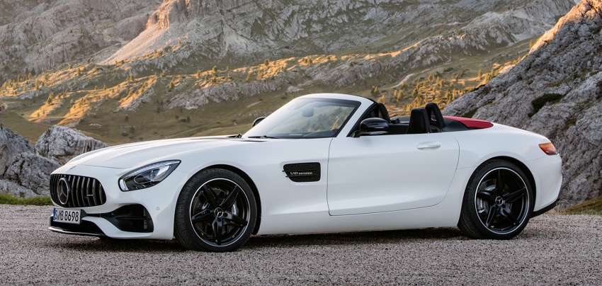 Mercedes-AMG GT C Roadster – 557 hp, 680 Nm convertible with goodies from the GT R Image #549184