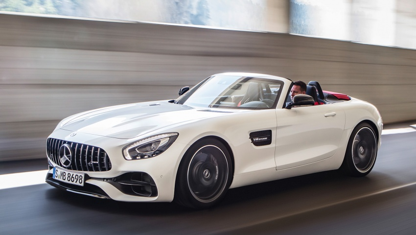 Mercedes-AMG GT C Roadster – 557 hp, 680 Nm convertible with goodies from the GT R Image #549186