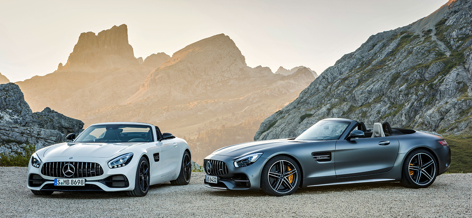 Mercedes Amg Gt C Roadster 557 Hp 680 Nm Convertible With Goodies