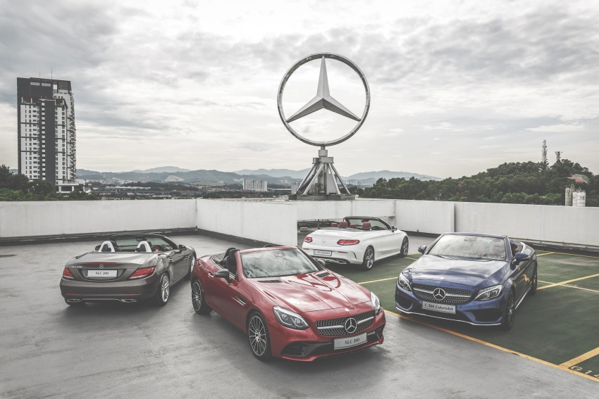 Mercedes-Benz SLC launched in Malaysia – SLC200 at RM398,888, SLC300 AMG Line at RM468,888 Image #555923