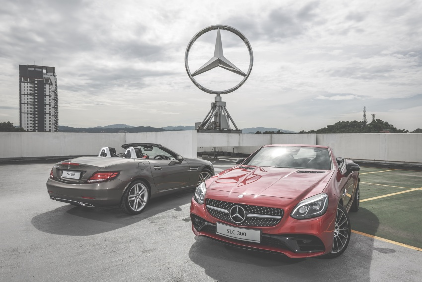 Mercedes-Benz SLC launched in Malaysia – SLC200 at RM398,888, SLC300 AMG Line at RM468,888 Image #555845