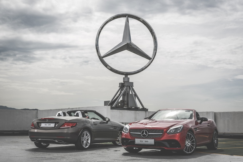 Mercedes-Benz SLC launched in Malaysia – SLC200 at RM398,888, SLC300 AMG Line at RM468,888 Image #555846
